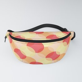 Colorful Circle pattern (Warm/Orange) Fanny Pack