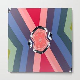Coco No. 5 Pinwheel 2 Metal Print