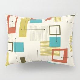 Mid Century Modern, Sputnik Pattern Pillow Sham