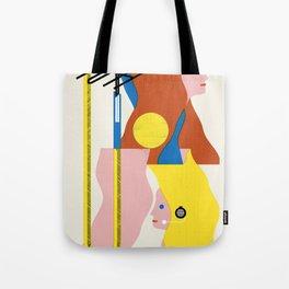 SPACE DAMES Tote Bag