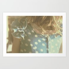 Carlotta's Youth Art Print