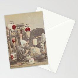 Paper Lantern Maker Stationery Cards