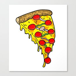 The Pizzarot Canvas Print