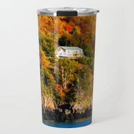 Fall in Nova Scotia. Canada. Travel Mug