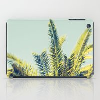 palm tree iPad Cases featuring Palm by Esther Ní Dhonnacha