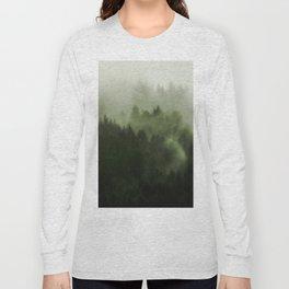 Drift - Green Mountain Forest Long Sleeve T-shirt