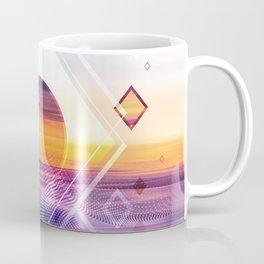 Abstract Geometric Collage II Coffee Mug