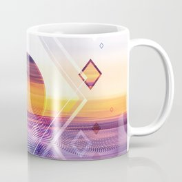 Abstract Geometric Collage II Coffee Mug