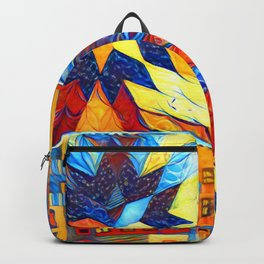 Colorful City Backpack