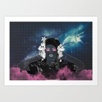 charli xcx Art Prints featuring CHARLI XCX by Lucas Eme A