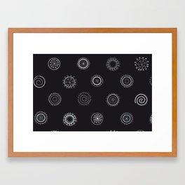 Broderat Framed Art Print