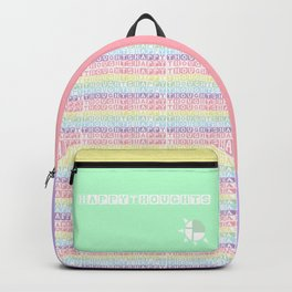 Happy Thoughts Block Backpack