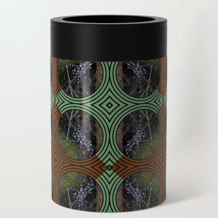 Nature Portals Pattern Can Cooler