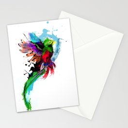 Watercolor Quetzal  Stationery Cards