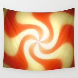 Retro sunburst design Wall Tapestry