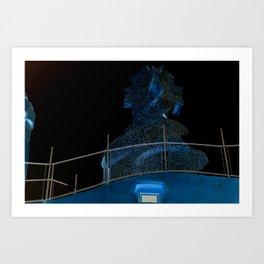 Gaudi's Designs Art Print