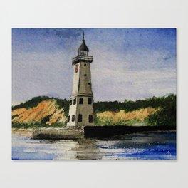 ~Frankfort Lighthouse~ Canvas Print