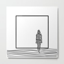 In The Dream | Her Metal Print