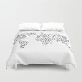 Word Map in a parallel universe II Duvet Cover