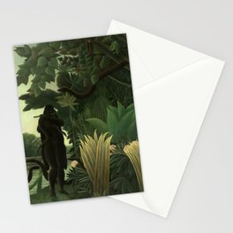 """Henri Rousseau """"The Snake Charmer"""", 1907 Stationery Cards"""