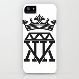 King Crown (WHITE) iPhone Case