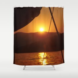 SUNSET DREAMING #1 #art #society6 Shower Curtain