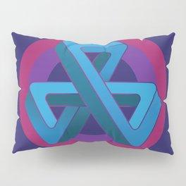 Tri-Tip Mobius Strip Pillow Sham