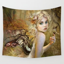 Touch of Gold - Fairy Wall Tapestry