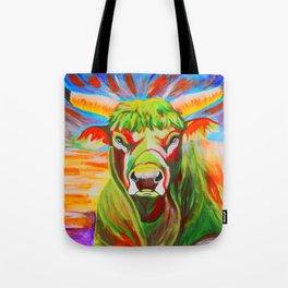 Taurus Bull Tote Bag