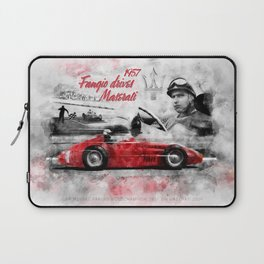 Fangio drives M 250F Laptop Sleeve