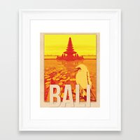 bali Framed Art Prints featuring Bali by Alise Carter