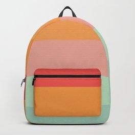 Vintage Rainbow Backpack