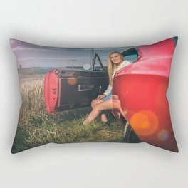 muscle car Rectangular Pillow