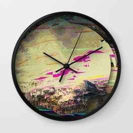 waste of hope Wall Clock