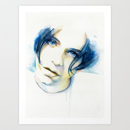 Brian Molko (I'll be yours) Art Print