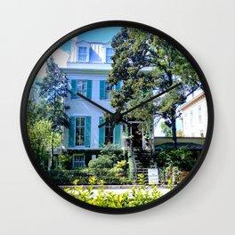 House in the Savannah Sun Wall Clock
