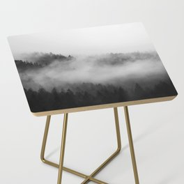 Foggy Forest Side Table