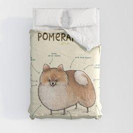 Anatomy of a Pomeranian Comforters