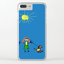 Family Clear iPhone Case