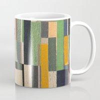 fez Mugs featuring Paralelos by Fernando Vieira