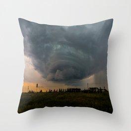 Mega Storm Throw Pillow