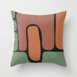 Shape Study IV Throw Pillow