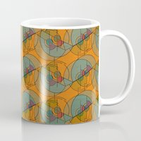art deco Mugs featuring Art Deco by Mimi