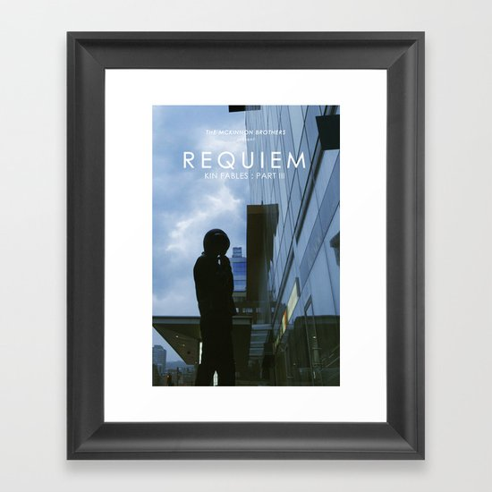 REQUIEM Poster Framed Art Print