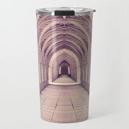 Vintage Church Corridor Travel Mug