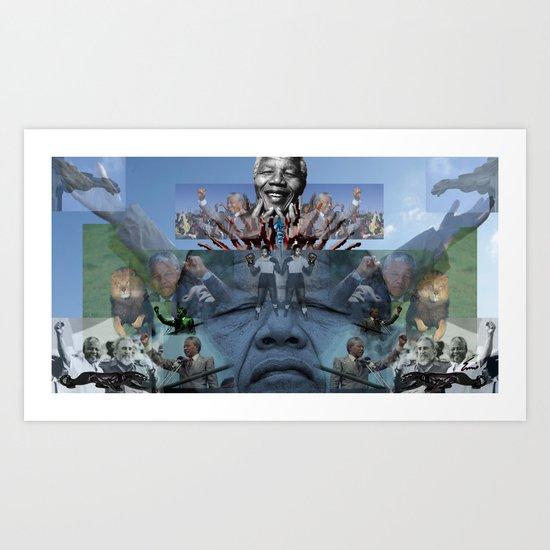 SC REMIX3~ ONE MORE COME Art Print