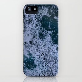 Large Night Sky Moon Print, by Christy Nyboer iPhone Case