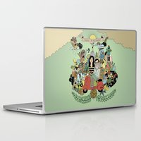 wedding Laptop & iPad Skins featuring wedding portrait by Judit Canela