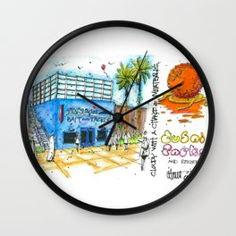 Cloudy With A Chance of Meatballs Motiongate Theme Park Dubai Wall Clock