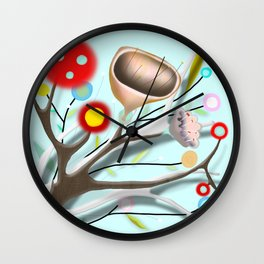 Underwater Art 2012 by Ruth Fitta-Schulz Wall Clock